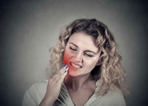 Dental patient in need of emergency dental care