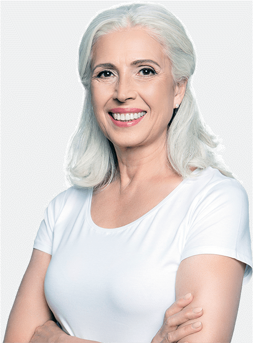 full arch dental implants patient smiling