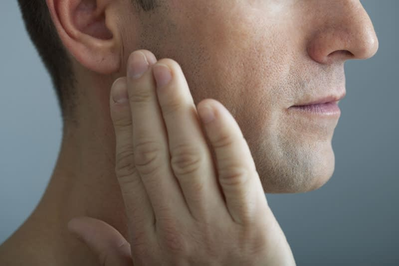dental patient in need of tmj treatment