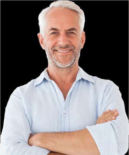 dental patient smiling after sleep apnea treatment