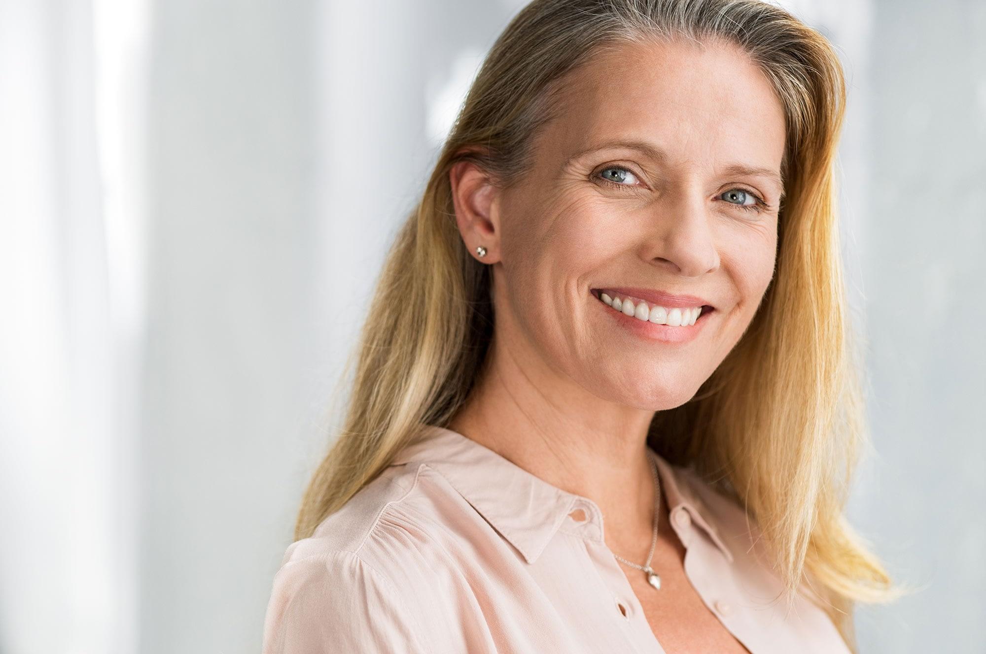 Dental Implant Patient Smiles