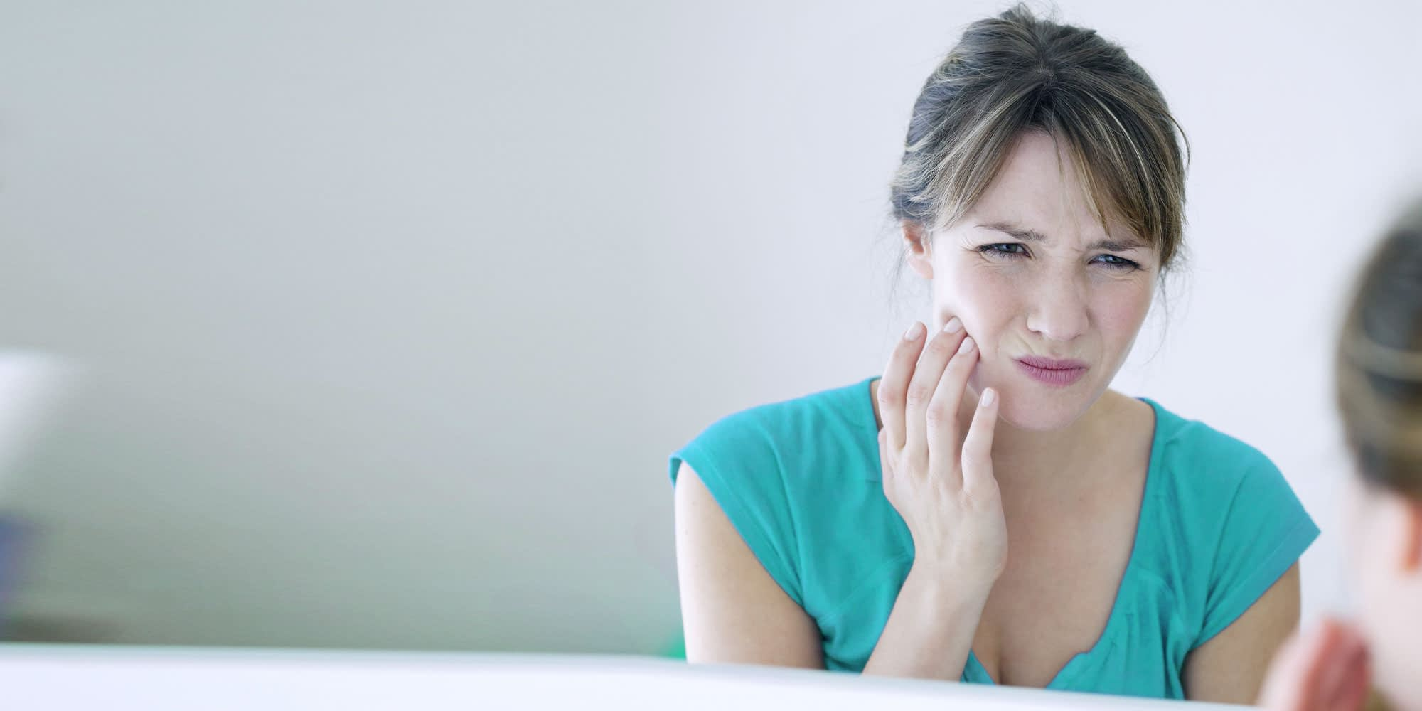 patient with tooth pain in need of root canal Brownstown, MI