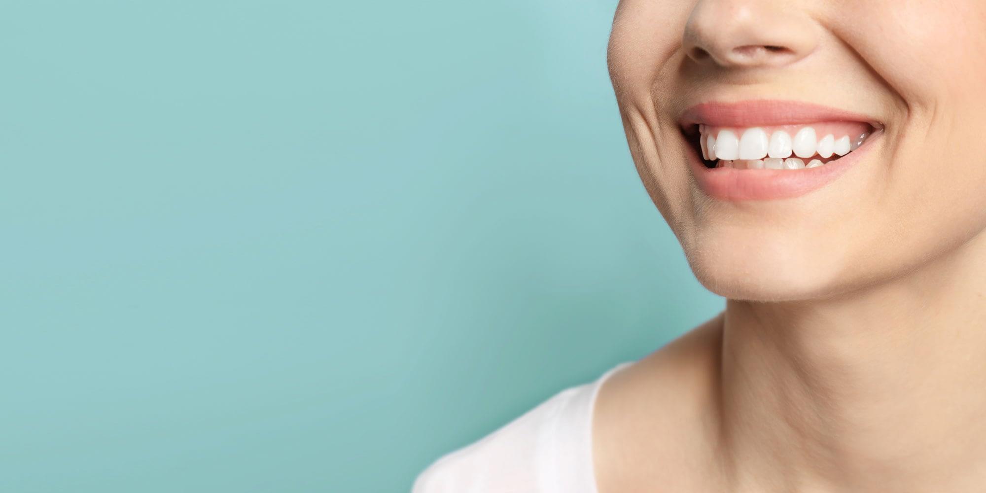 teeth whitening patient smiling Brownstown, MI