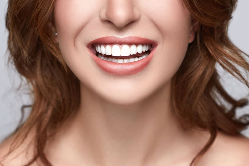 cosmetic dentistry patient smiling