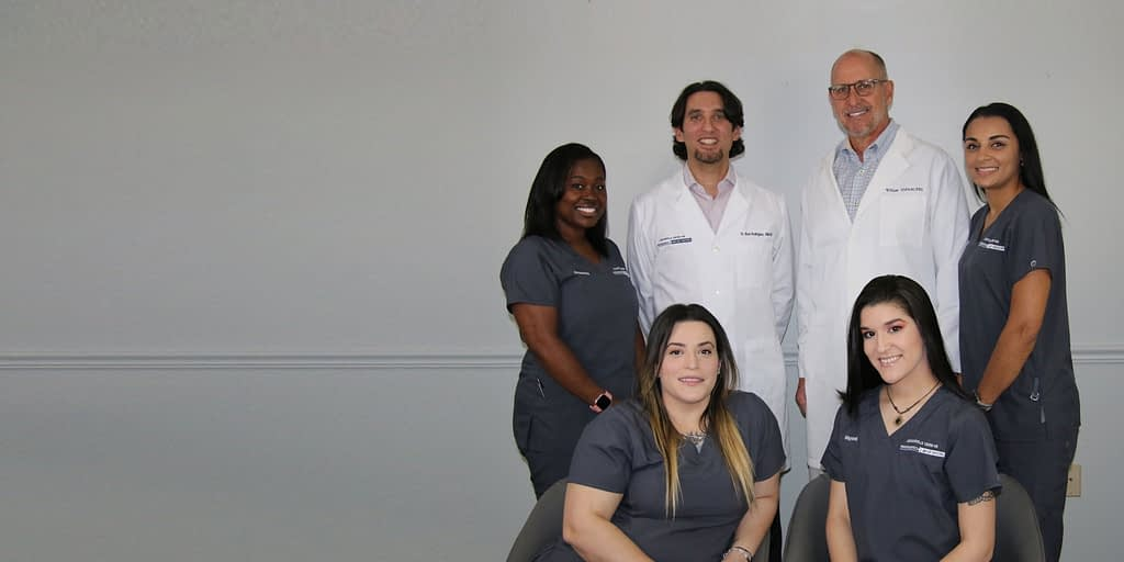 dr rodriguez and dental team