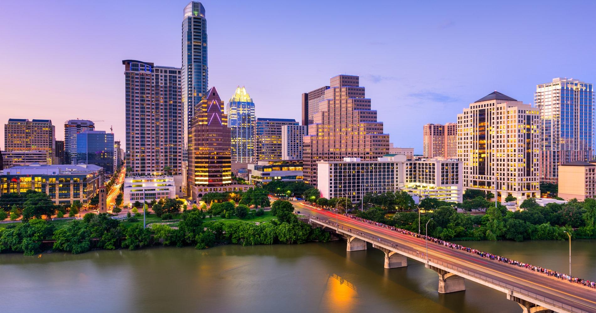 the Austin, Texas skyline