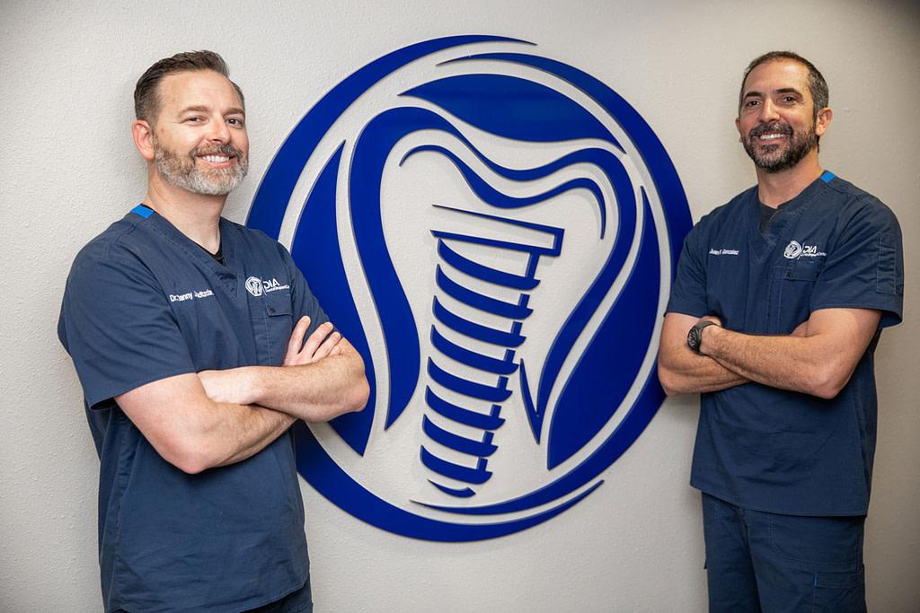 Dr Holtzclaw and Dr Gonzalez - Dental Implant Center