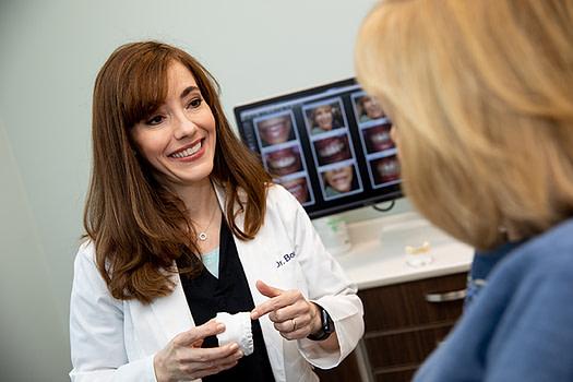 Dr, Bork Consulting a patient ALLEN, TX