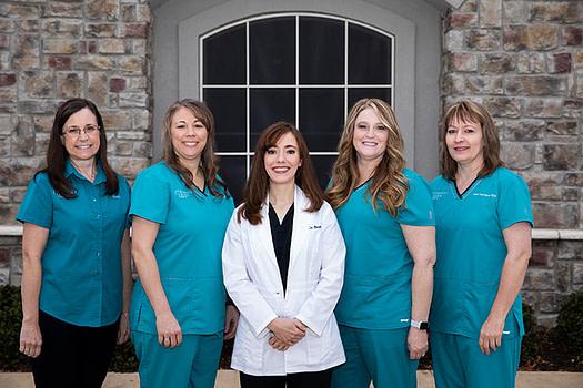 Dr. Brok's staff ALLEN, TX
