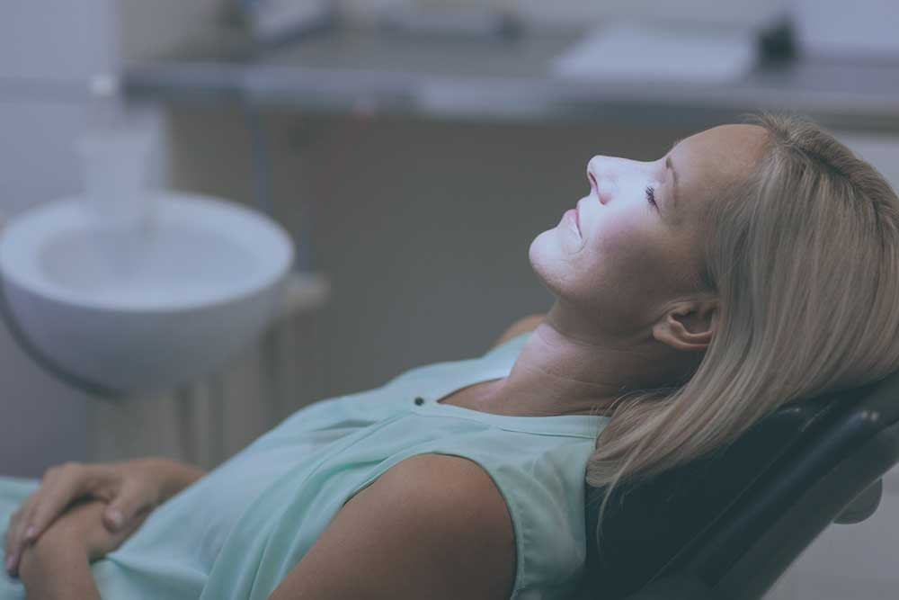 dental patient overcoming dental anxiety