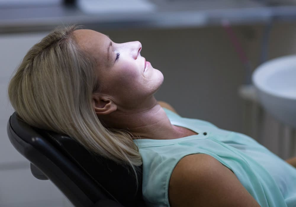 dental patient under sedation Dana Point CA