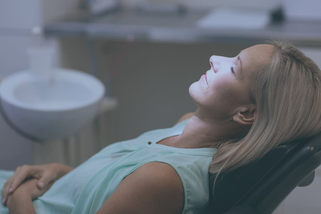 patient under iv sedation