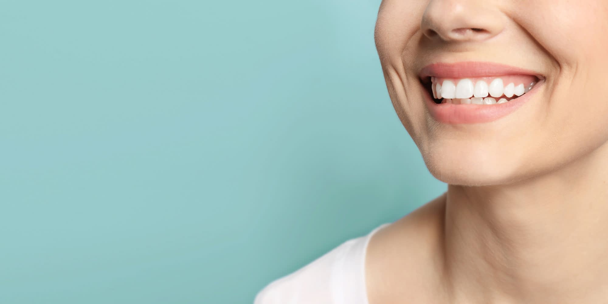 teeth whitening patient smiling Brownstown, MI