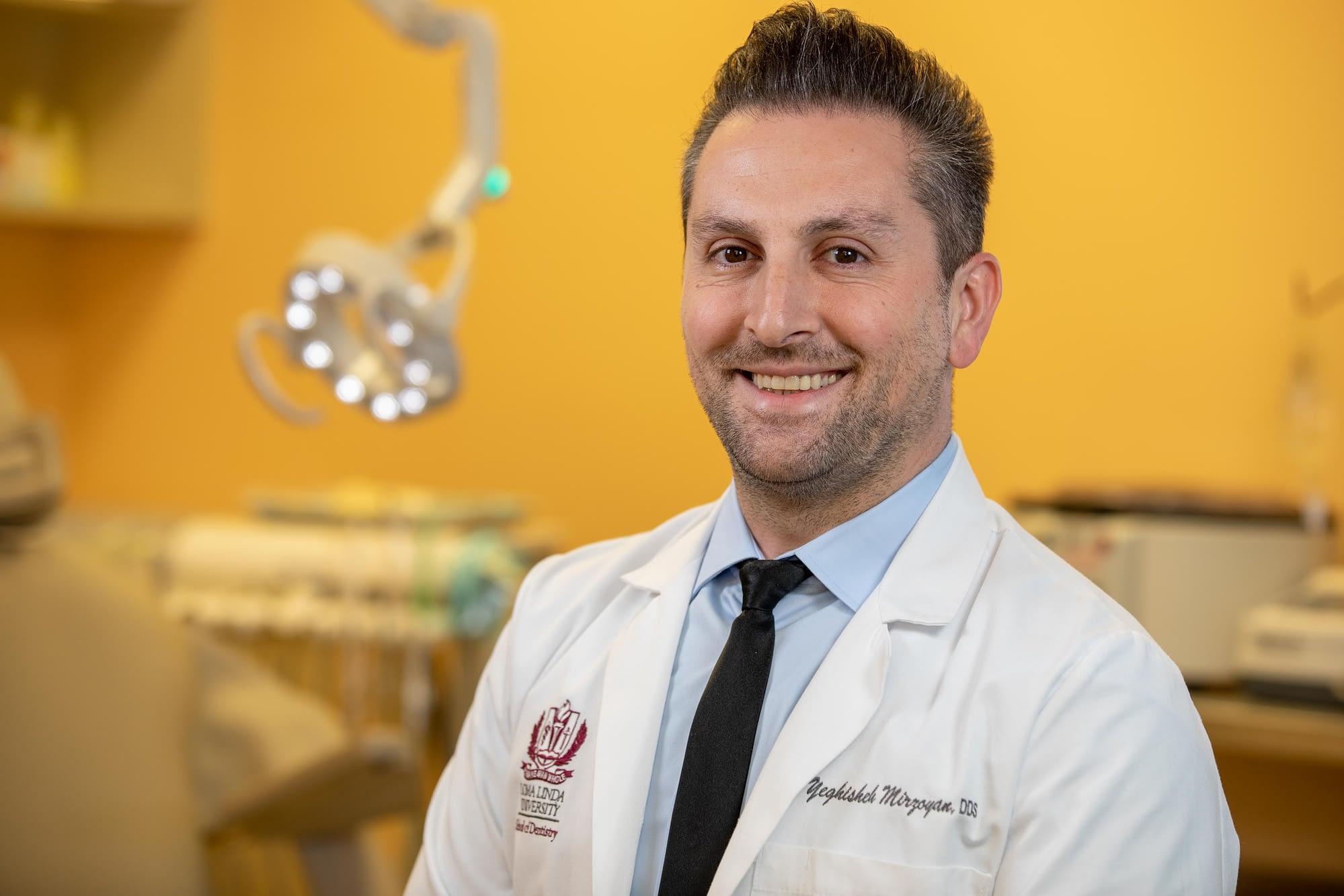 Dr Mirzoyan talking about teeth whitening Van Nuys, CA