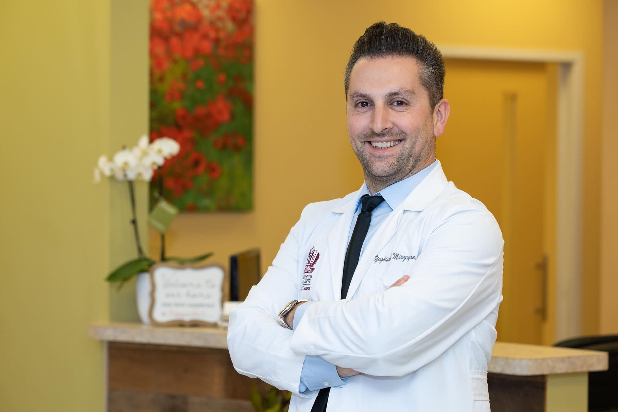Dr. Mirzoyan talking about dental implants Van Nuys, CA
