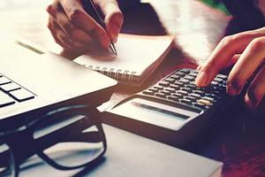 dental patient calculating treatment cost