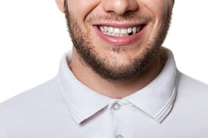 Dental Patient Missing His Tooth