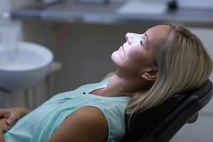 Dental Patient Under Dental Sedation