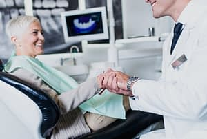 Dental Implant Patient After Procedure