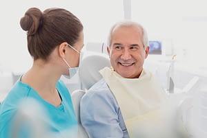 Dental Implant Patient Smiling After His Dental Implant Procedure
