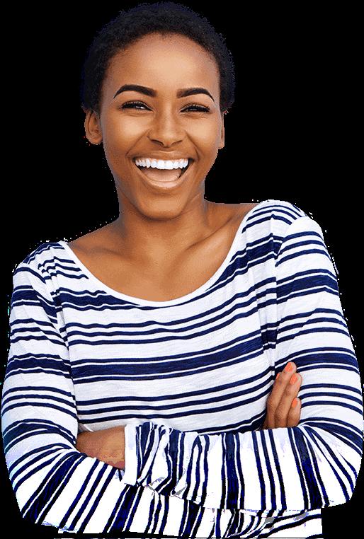 orthodontics patient smiling