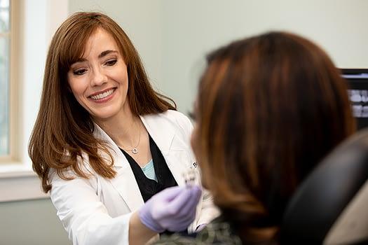 Dr Bork consulting a patient ALLEN, TX