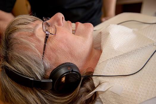 dental patient listening to music Tavares, FL