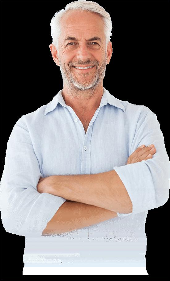 dental implants patient smiling
