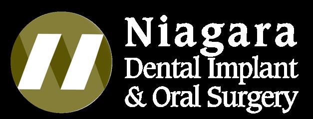 Niagara Dental Implant and Oral Surgery, Logo White