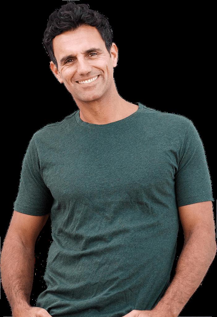 oral surgery patient smiling Dana Point CA