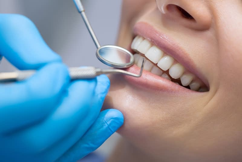 patient undergoing dental procedure Peabody, MA