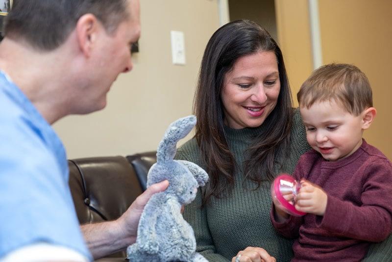 pediatric dental patient Peabody, MA
