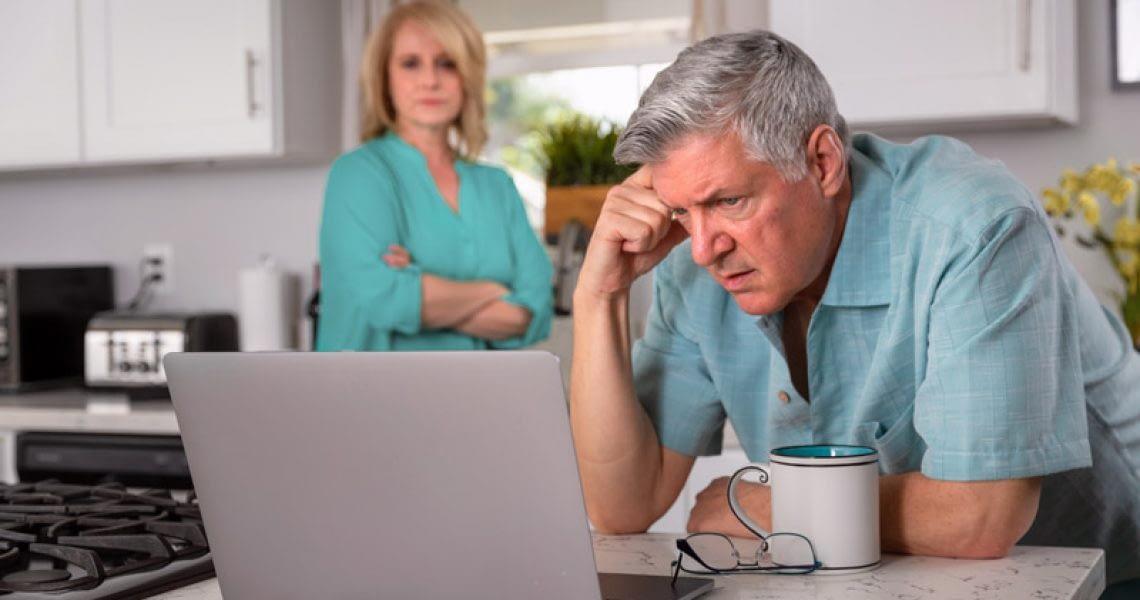 Dental Patient Struggling With His Bills