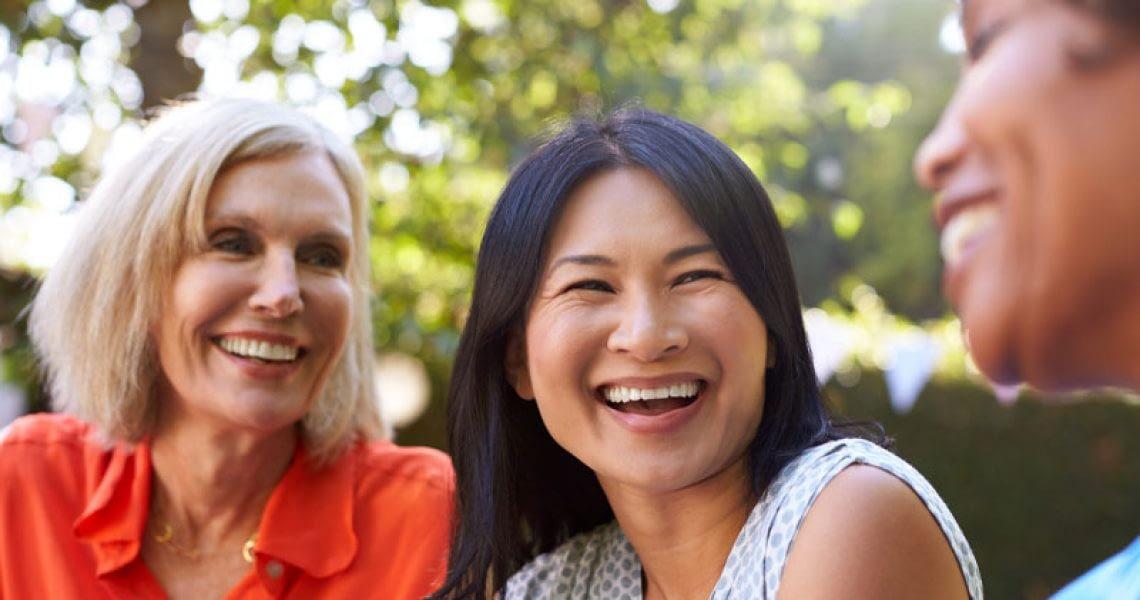Dental Implant Patient Smiling After Dental Implant Patient