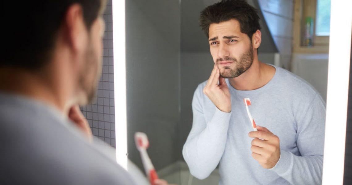 Dental Patient Suffering From Gum Disease
