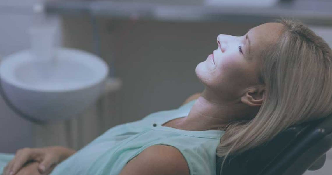 dental patient under iv sedation